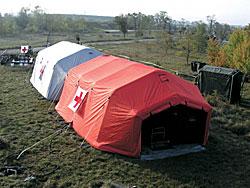 Палаткови системи и съоръжения при бедствия и аварии, системи за биологическа охрана, дезинфекция
