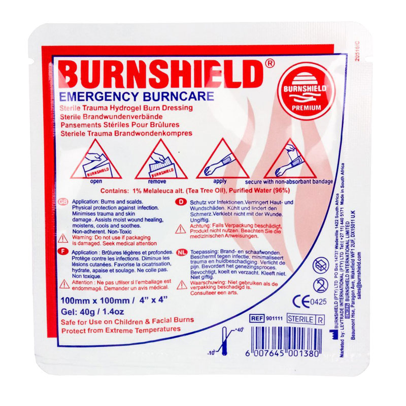 Burnshield Dressing 10 x 10