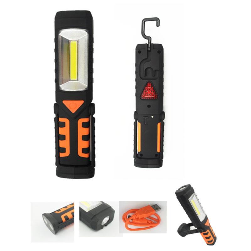 Фенер - Работна светлина - 200 lm COB Rechargeable