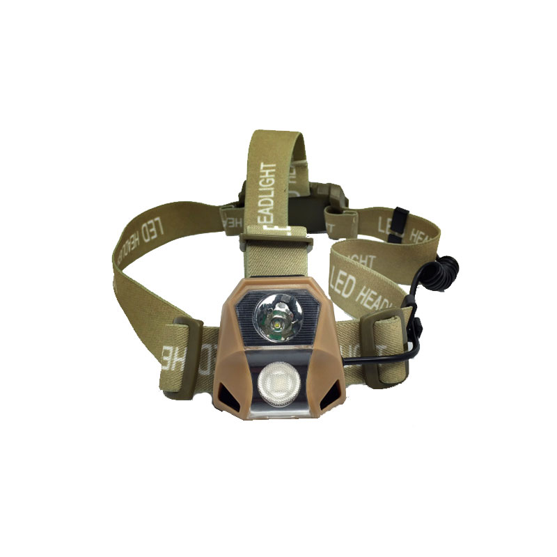 Челник - LED 120 LM - Military Coyote Brown