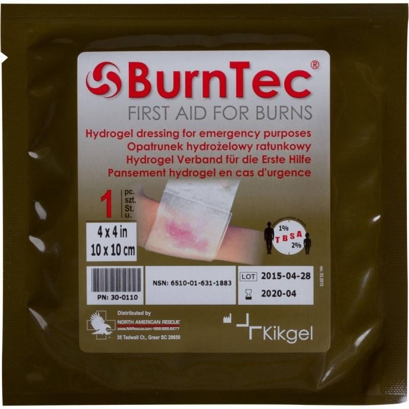 Превръзка за изгаряния - Burntec Hydrogel 12 x 12
