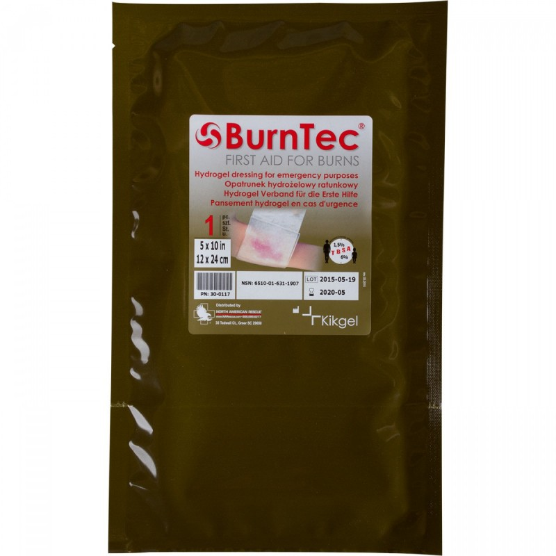 Превръзка за изгаряния - Burntec Hydrogel 12 x 24